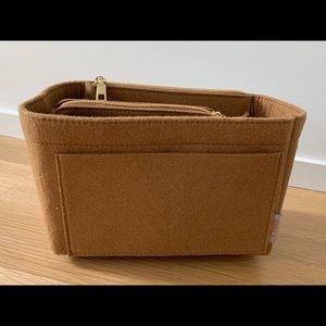 Felt insert handbag organizer